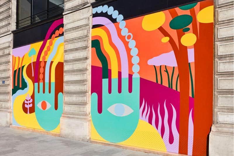 Louis Vuitton voit la vie en couleurs