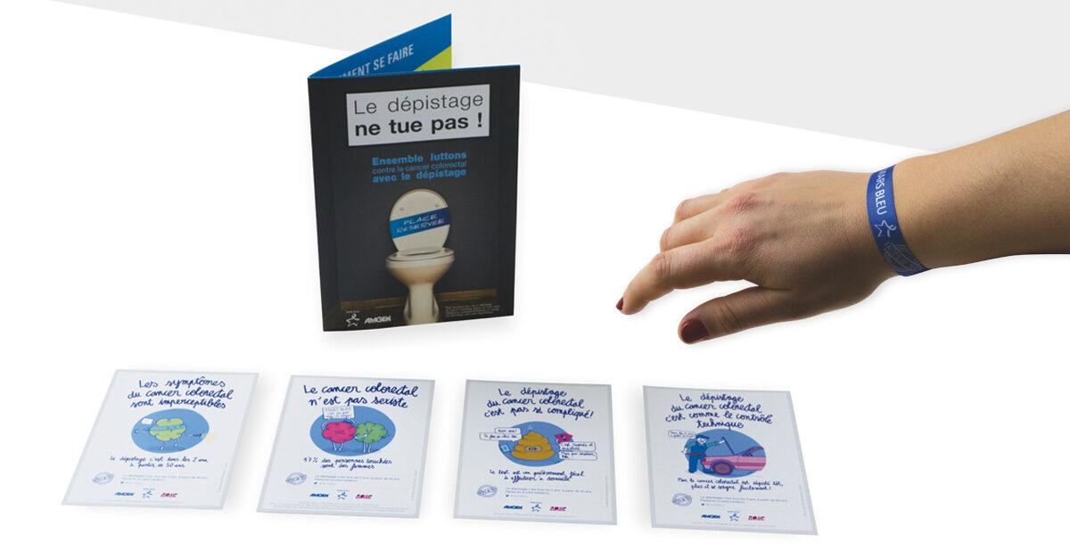 Mayence soutient la campagne « Mars bleu » lancée par les laboratoires Amgen