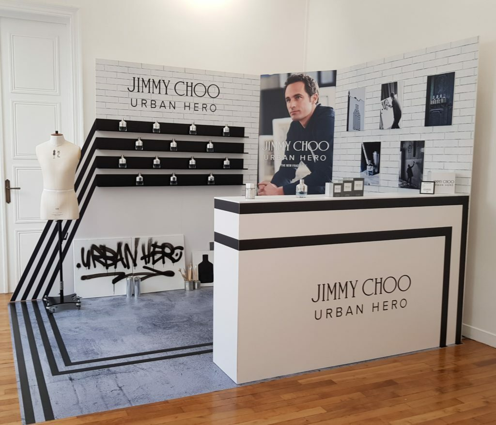 Jimmy Choo : salon sur mesure Urban Hero