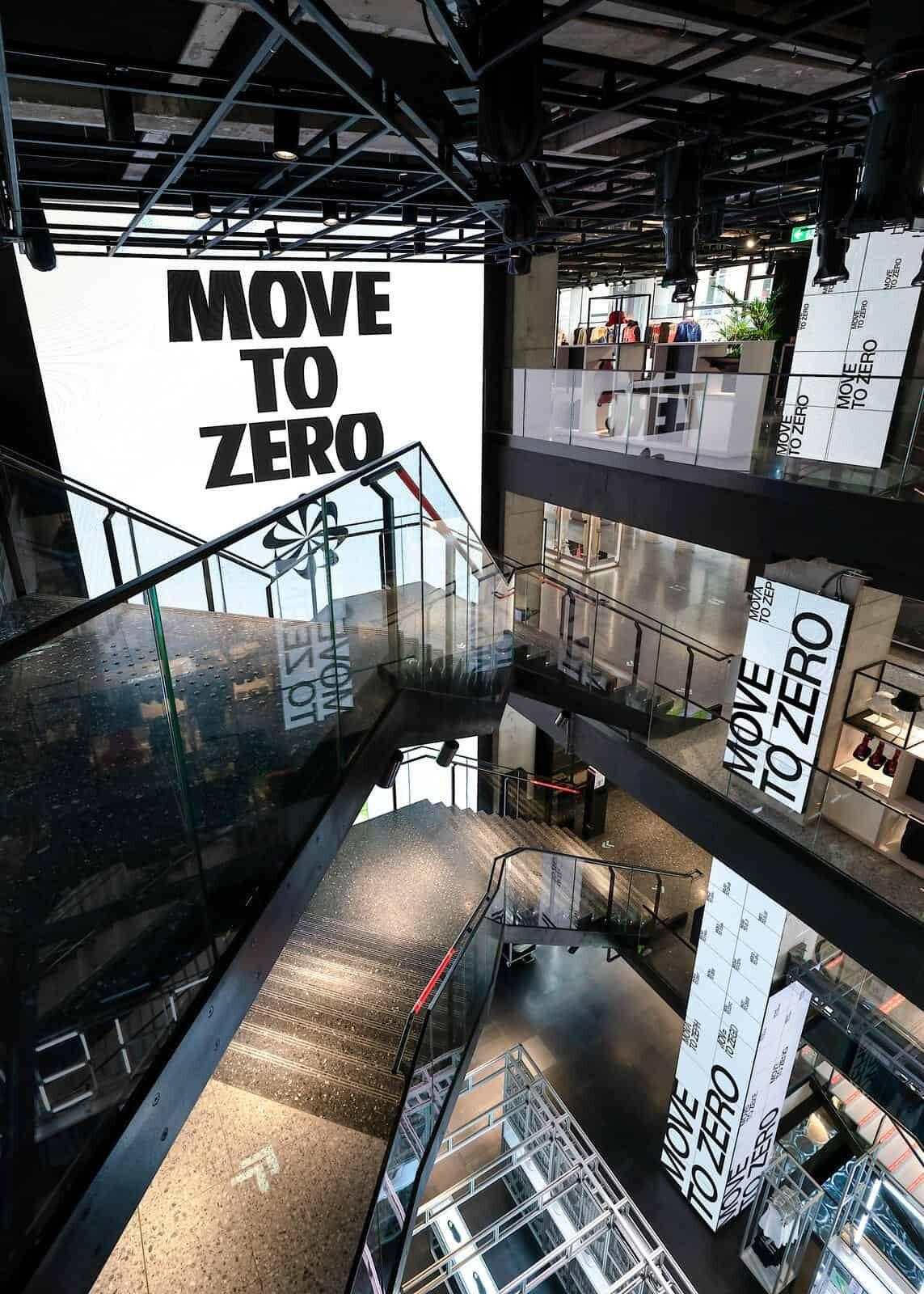 Nike « House of Innovation », une boutique futuriste et ultra-connectée