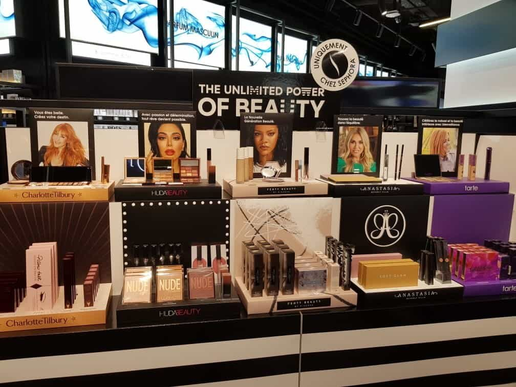 «UPOB» nouvelle campagne PLV cosmétiques Séphora